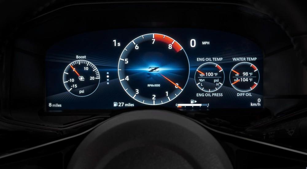 Bảng đồng hồ của Nissan Z 2023