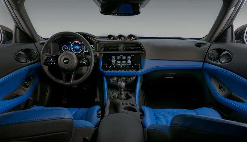 Thiết kế nội thất của Nissan Z 2023
