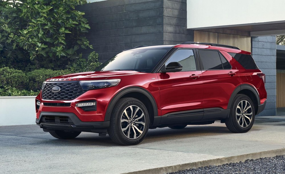 Ford Explorer ST-Line 2022 trình làng tại thị trường Mỹ