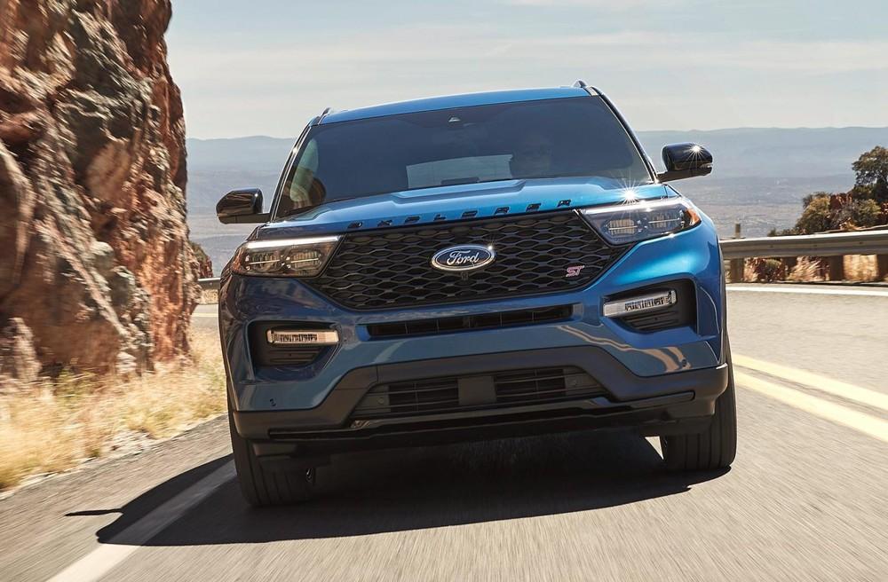 Ford Explorer ST 2022 được bổ sung phiên bản dẫn động cầu sau mới