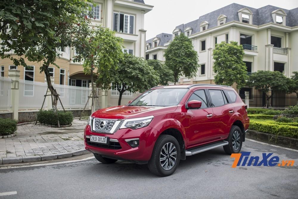 Nissan Terra lần đầu ra mắt Việt Nam vào cuối năm 2018.