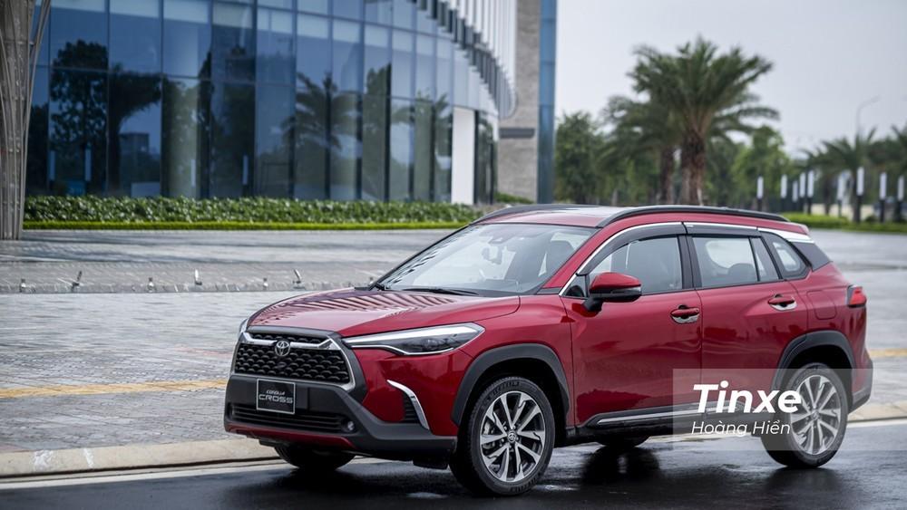 Toyota Corolla Cross dành cho Việt Nam