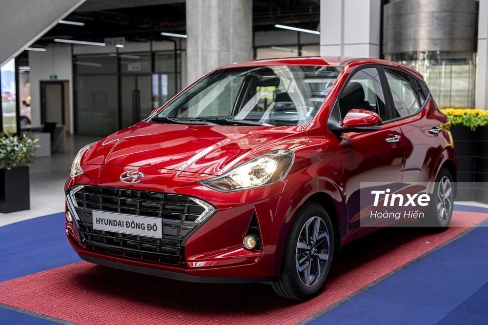 Hyundai Grand i10 xếp thứ 2 trong phân khúc xe hạng A