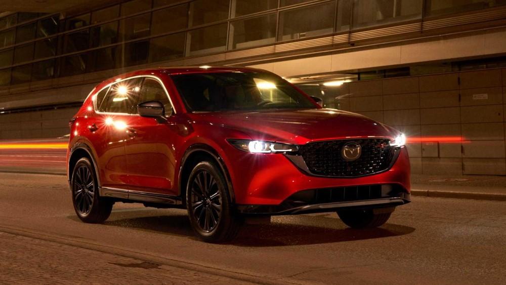 Vén màn Mazda CX-5 2022 với thiết kế nâng cấp nhẹ