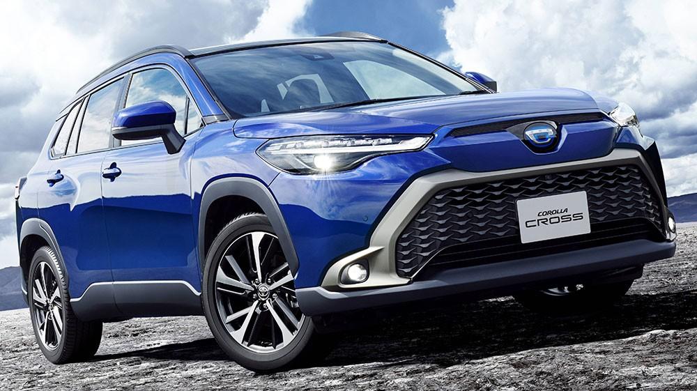 Toyota Corolla Cross 2021 có thiết kế khác xe ở Việt Nam chính thức trình làng