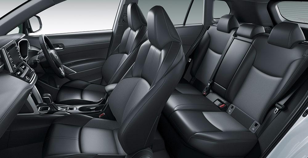 Nội thất của Toyota Corolla Cross 2021 tại Nhật Bản