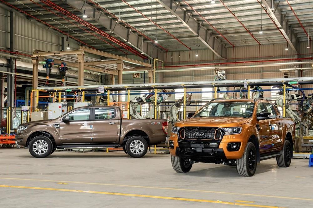 Dù chuyển sang lắp trong nước, Ford Ranger vẫn là lựa chọn số 1 trong phân khúc xe bán tải đối với người dùng.