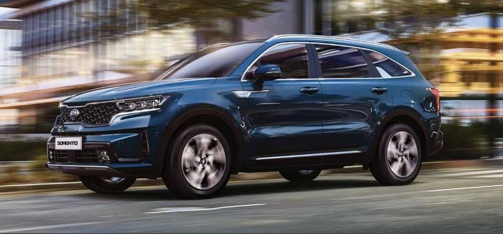 KIA Sorento được đánh giá cao về thiết kế và các tiện nghi đi kèm của xe.