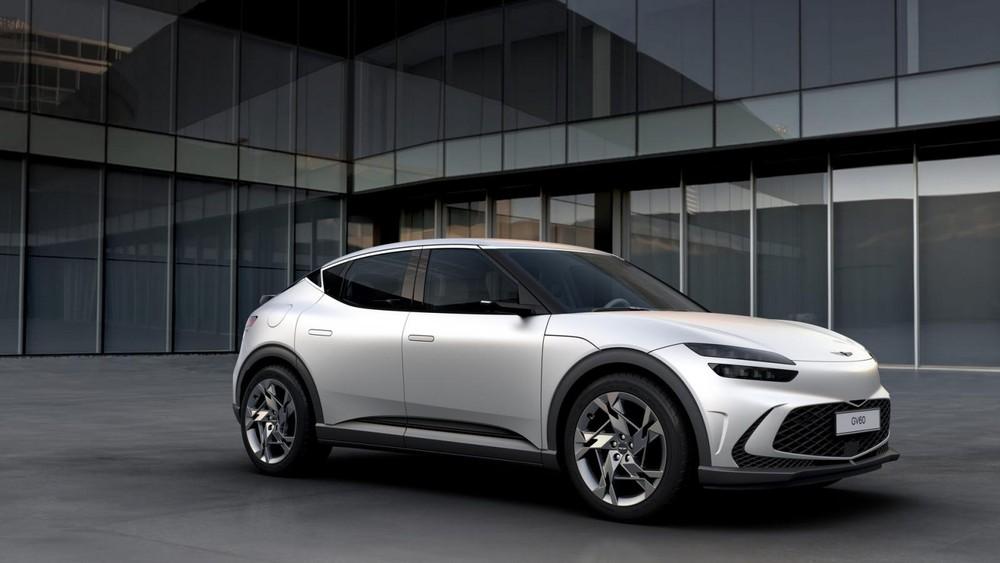 Genesis GV60 2022 là mẫu SUV hạng sang mới ra mắt cách đây 1 tháng