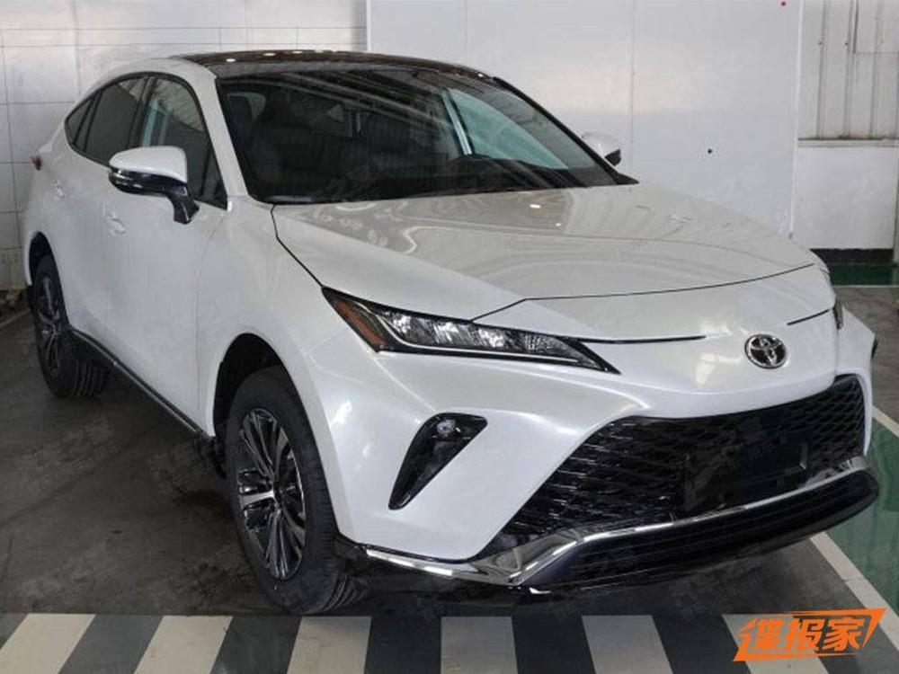 Thiết kế đầu xe của Toyota Venza 2022 dành cho Trung Quốc