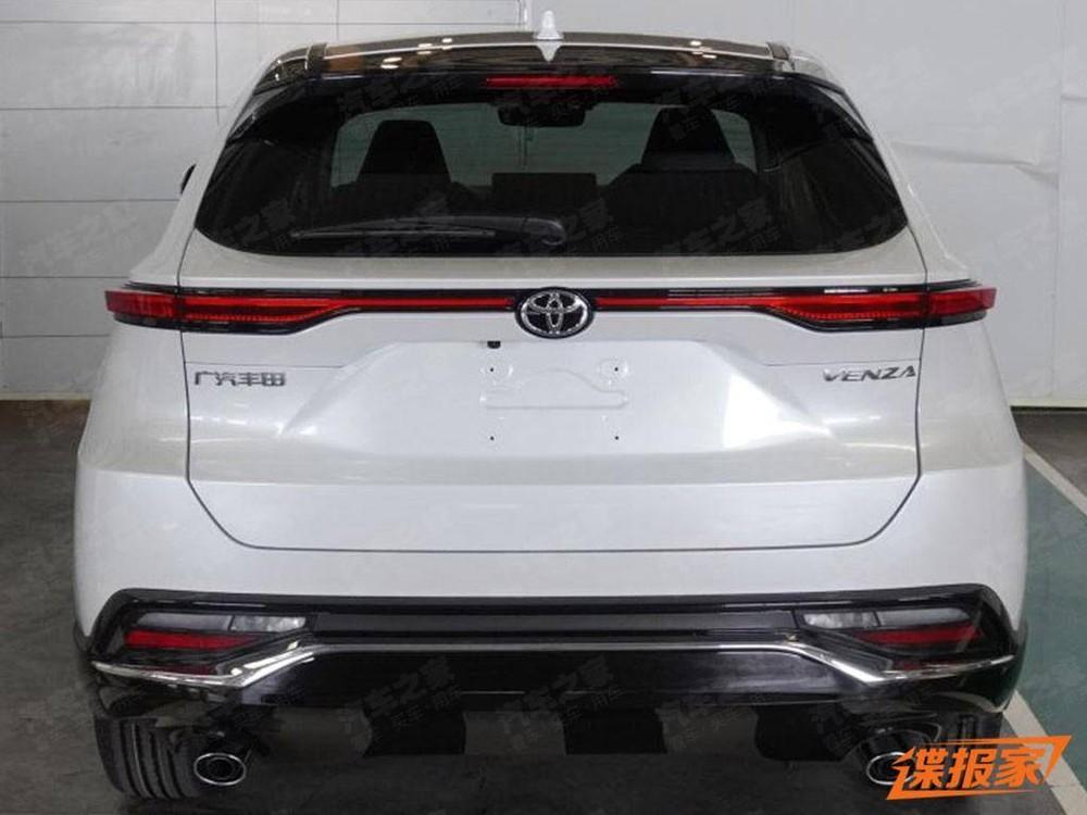 Thiết kế đằng sau của Toyota Venza 2022 dành cho Trung Quốc