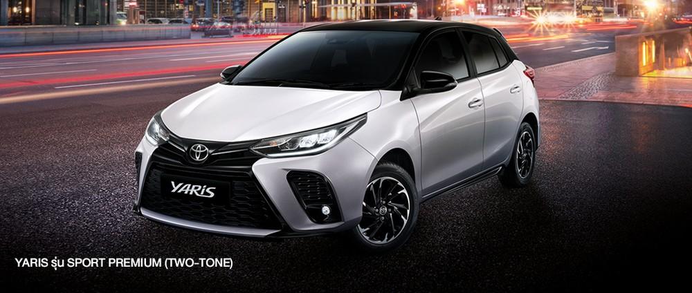 Toyota Yaris 2021 ra mắt thị trường Thái Lan