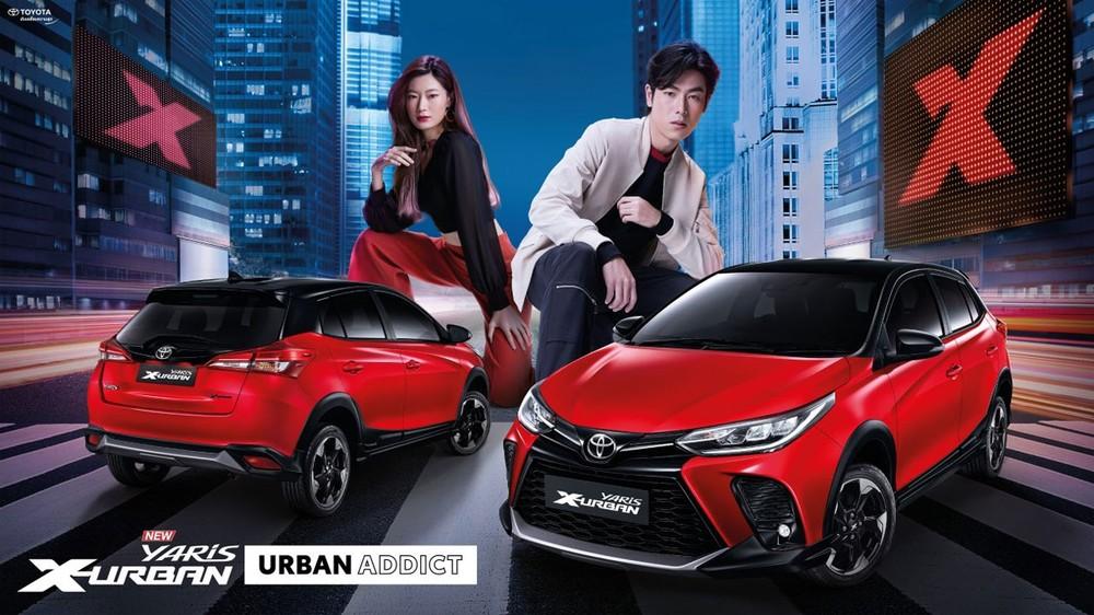 Toyota Yaris X-Urban 2021 trình làng tại thị trường Thái Lan