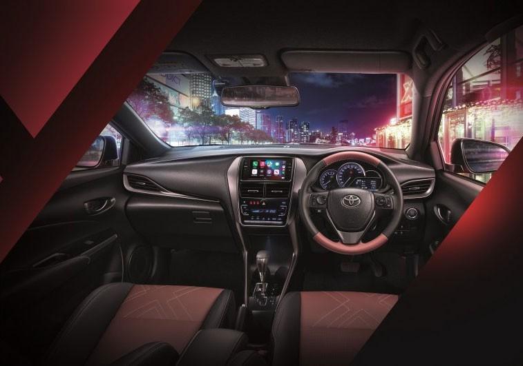 Nội thất của Toyota Yaris 2021
