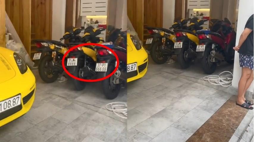 3 chiếc xe tay ga Honda SH nhập Ý, trong đó, có 2 chiếc xe mang biển khủng là ngũ quý 6 và tứ quý 8