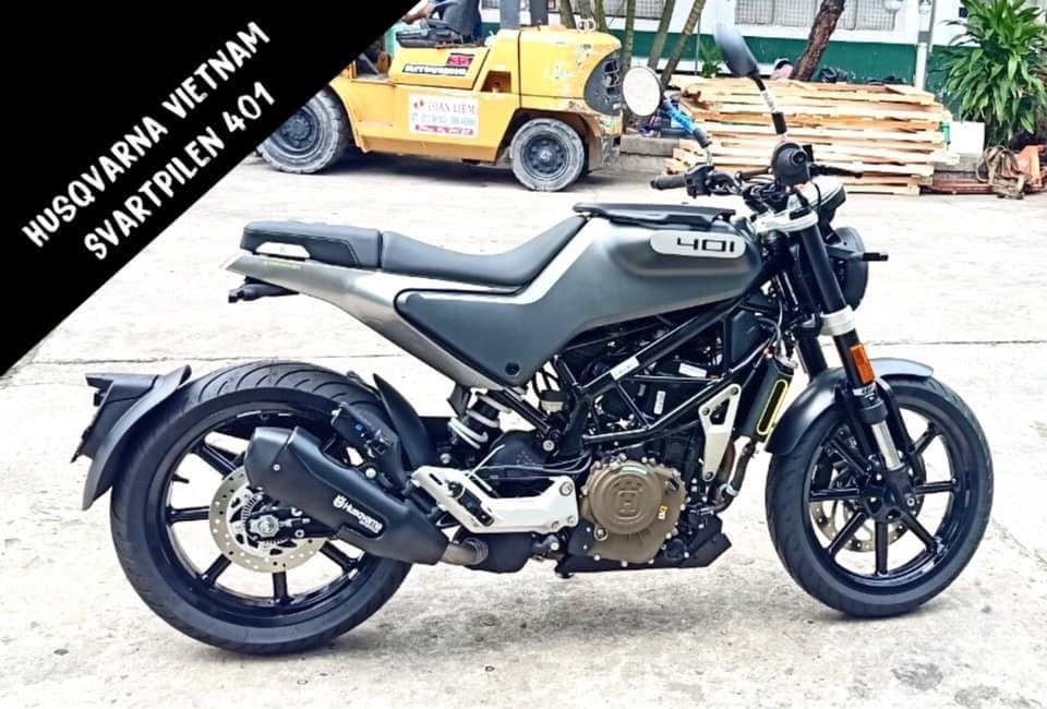 Mẫu xe tân cổ điển Svartpilen 401 sẽ là sự lựa chọn tốt cho các biker Việt trong thời gian tới