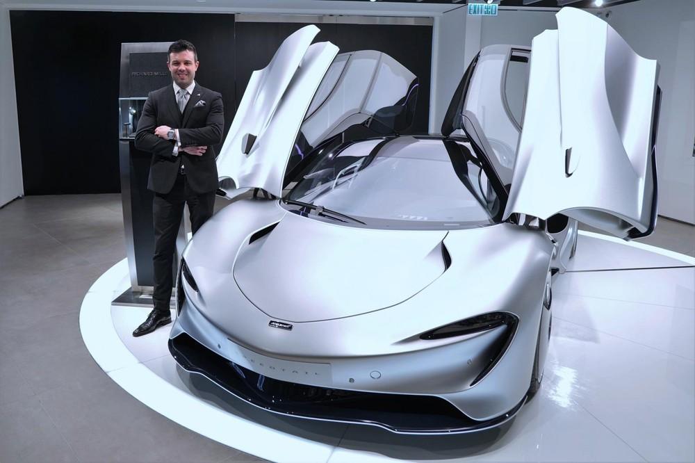 McLaren Speedtail phiên bản 6 chiếc về Hồng Kông