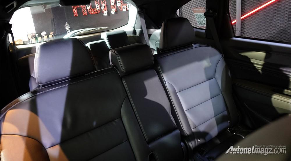 Hàng ghế thứ 2 của Honda BR-V 2022