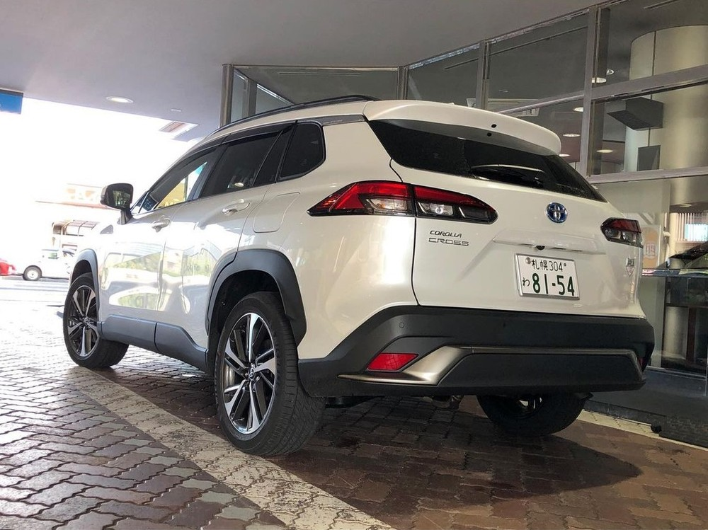 Thiết kế đằng sau của Toyota Corolla Cross 2021