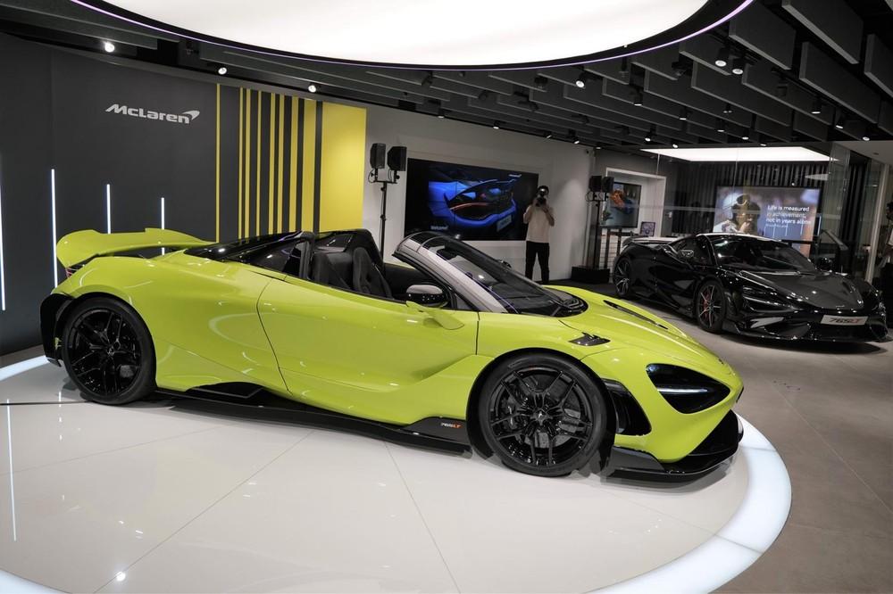 Chỉ có 765 chiếc xe McLaren 765LT Spider được sản xuất trên thế giới