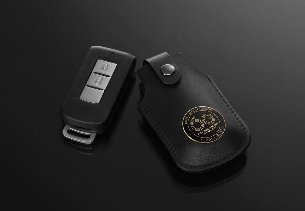 Bao chìa khóa mới của Mitsubishi Triton Passion Red Edition 2021