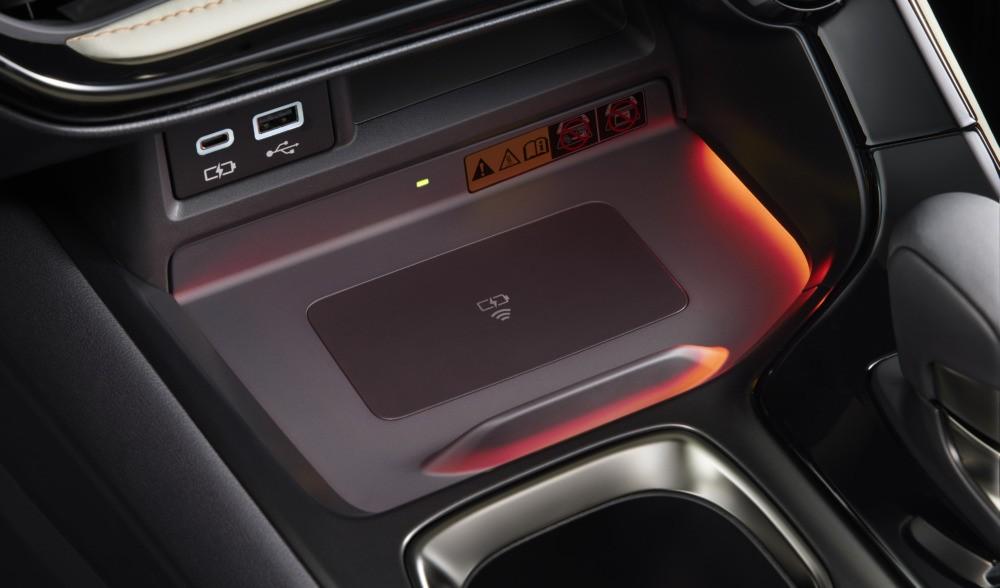 Sạc điện thoại thông minh không dây của Lexus NX 2022