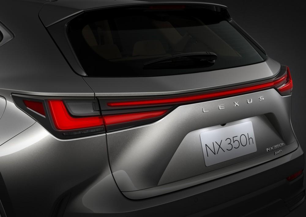 Đèn hậu mới của Lexus NX 2022