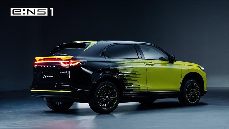 Honda e:NS1 2022 được trưng bày trong sự kiện diễn ra vào tối ngày 13/10 tại Trung Quốc