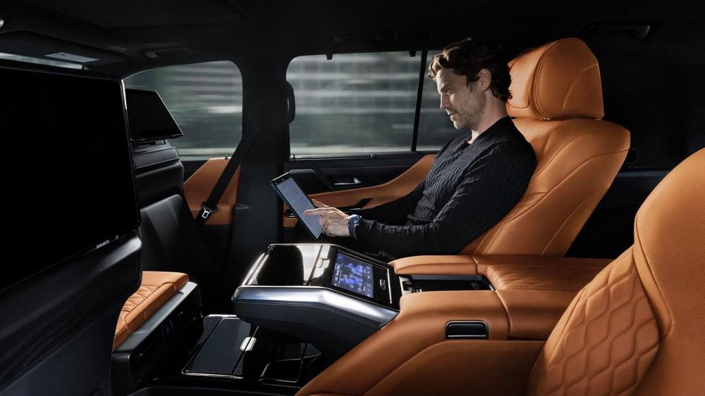 Lexus LX Ultra Luxury 2022 mang đến cảm giác thoải mái cho người ngồi