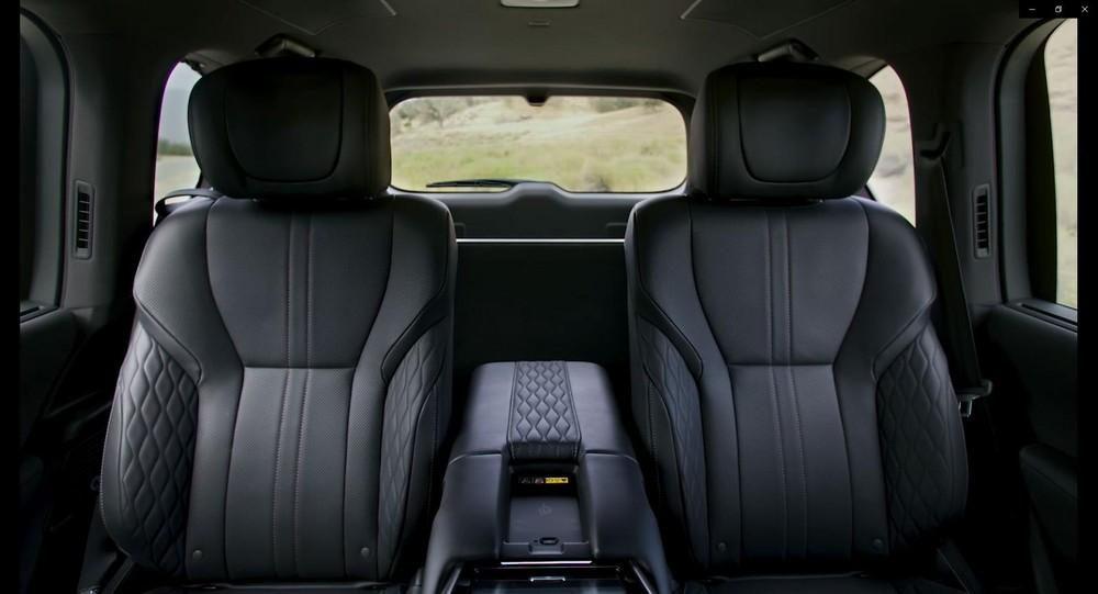 2 ghế thương gia độc lập của Lexus LX 2022