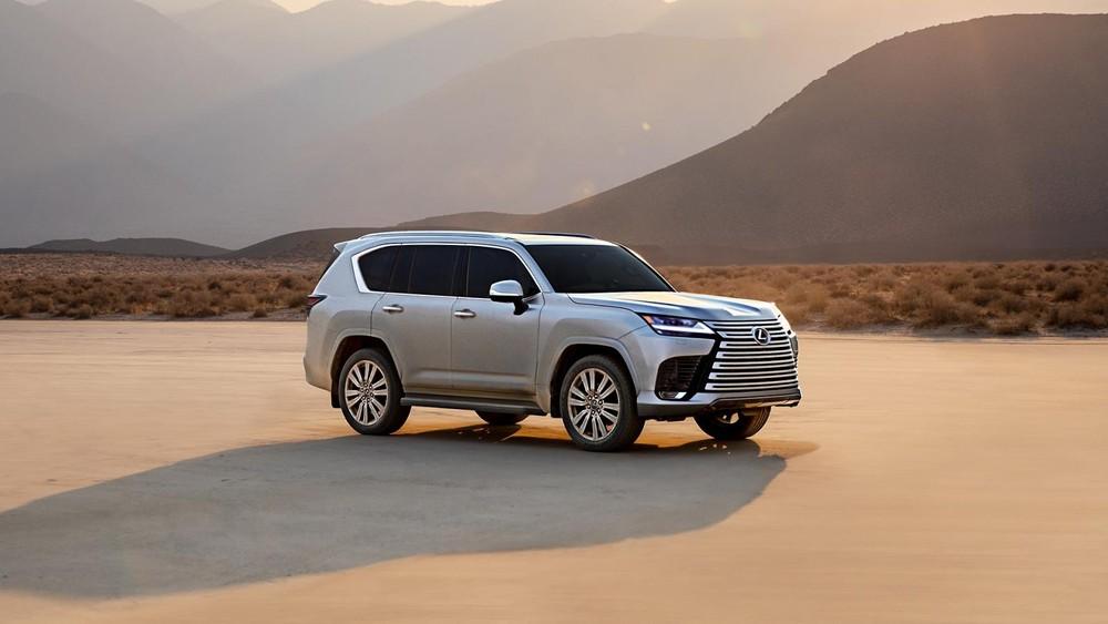 Lexus LX 2022 dùng động cơ giống Toyota Land Cruiser mới