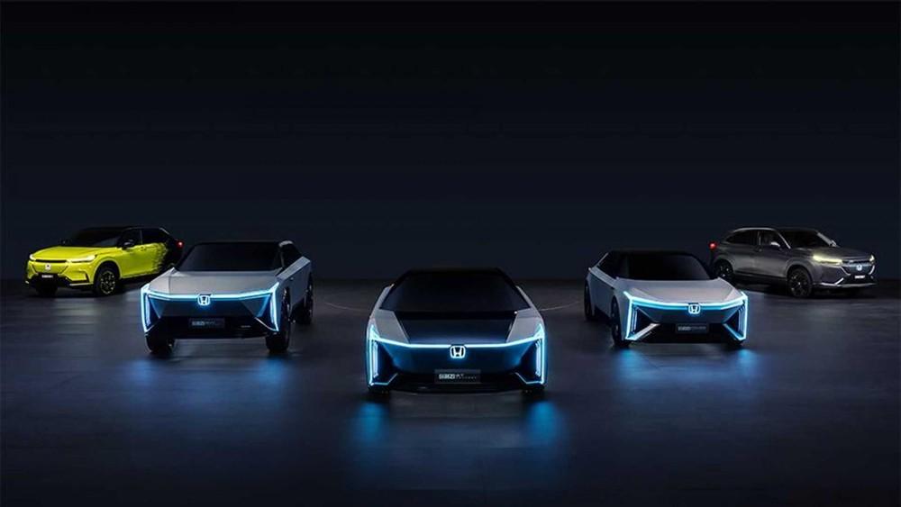 Honda mới tiết lộ 5 mẫu concept xe điện thuộc e:N Series