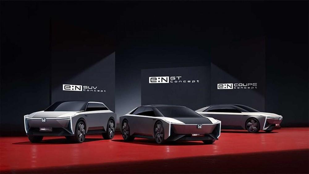 Honda e:N Coupe Concept, e:N SUV Concept và e:N GT Concept