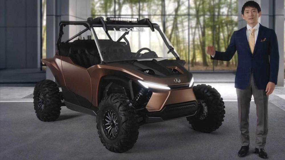Lexus Off-Highway Recreational Vehicle Concept có hình dáng của một chiếc ATV chuyên đi địa hình