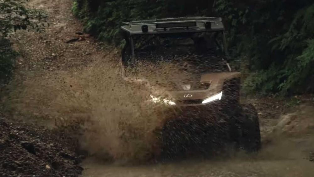 Lexus Off-Highway Recreational Vehicle Concept có lẽ sẽ không bao giờ được sản xuất thật