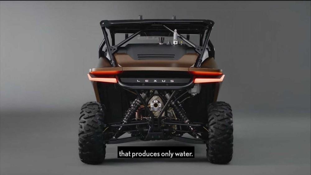 Lexus Off-Highway Recreational Vehicle Concept chỉ tạo ra sản phẩm phụ là nước