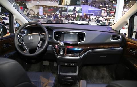 Thiết kế Nội thất của Honda Odyssey