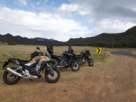 Kawasaki Versys 650 VS Honda CB500X