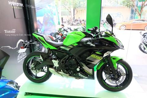 Kawasaki Ninja 650 2018 có thiết kế Sport-touring