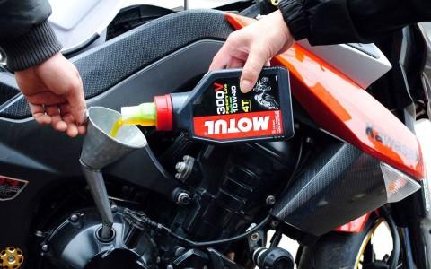 Thay dầu xe máy
