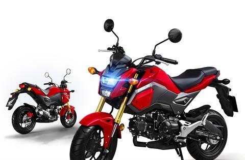 Thiết kế ngoại hình của Honda MSX 2018