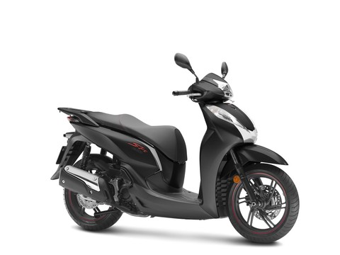 Honda SH 300i phiên bản màu đen mờ mới