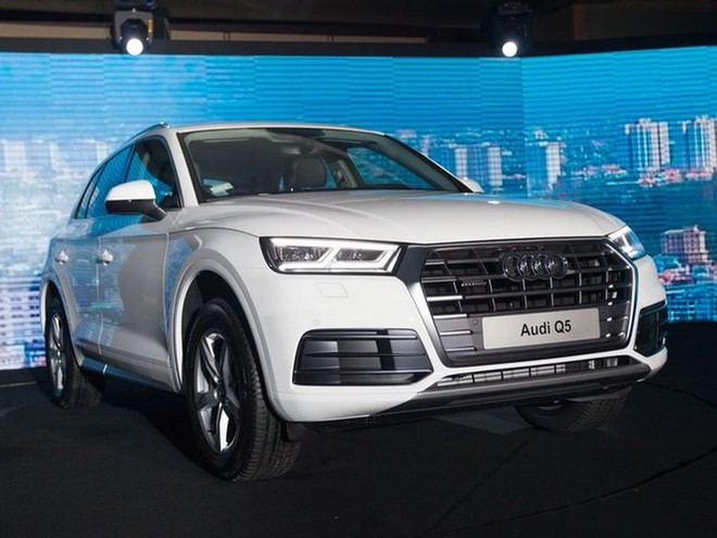 Thiết kế ngoại thất của Audi Q5