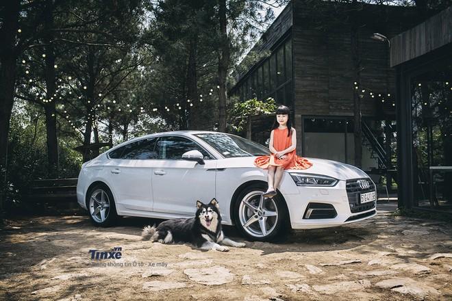 Thiết kế ngoại thất của Audi A5