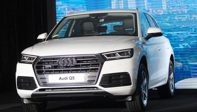 Thiết kế ngoại thất của xe Audi Q5