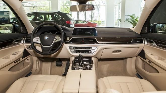 Thiết kế Nội thất của BMW 7 Series