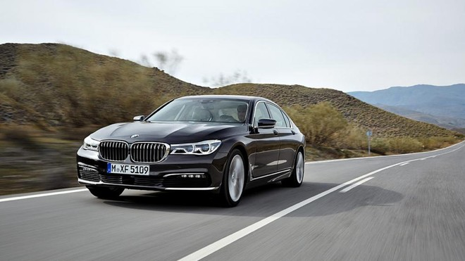 Thiết kế ngoại thất của BMW 7 Series