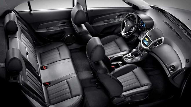 Thiết kế Nội thất của Chevrolet Cruze 2018
