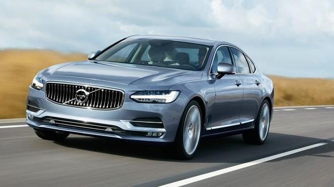 Thiết kế Ngoại thất của Volvo S90 2018