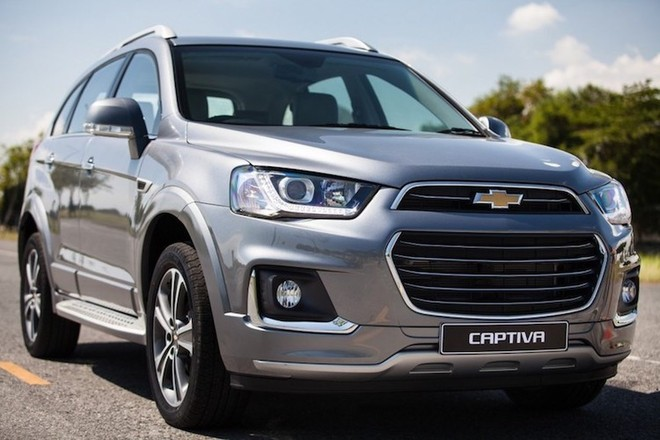 Xe Chevrolet Captiva
